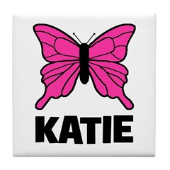 KATIE - Butterfly Tile Coaster