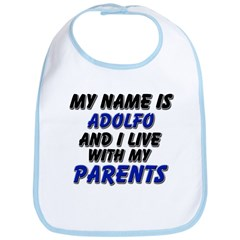 my name is adolfo and I live with my parents Bib