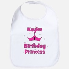 1st Birthday Princess Kaylee! Bib