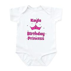 1st Birthday Princess Kayla! Infant Bodysuit