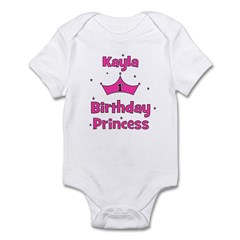 1st Birthday Princess Kayla! Infant Bodysuit
