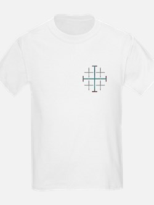 Jerusalem Cross Kids T-Shirt