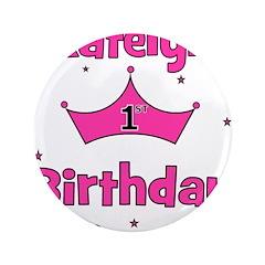 1st Birthday Princess Katelyn 3.5