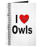 I Love Owls Journal