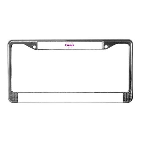 Gammie License Plate Frame