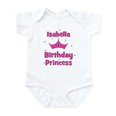 1st Birthday Princess Isabell Infant Bodysuit