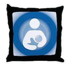 IBFS Spin Throw Pillow