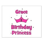 1st Birthday Princess Grace! Small Poster