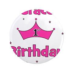 1st Birthday Princess Grace! 3.5