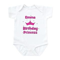 1st Birthday Princess Emma! Infant Bodysuit