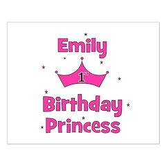 1st Birthday Princess Emily! Posters