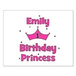 1st Birthday Princess Emily! Small Poster