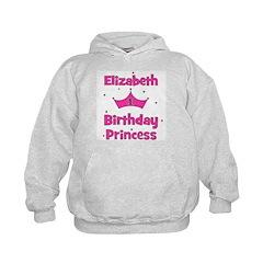 1st Birthday Princess Elizabe Hoodie