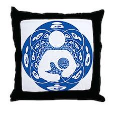 IBFS Kaleidoscope #1 Throw Pillow