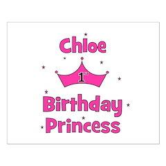 1st Birthday Princess Chloe! Posters