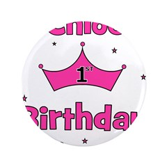 1st Birthday Princess Chloe! 3.5