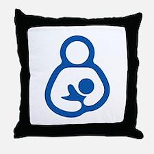 IBFS Outline Throw Pillow