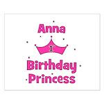 1st Birthday Princess Anna! Small Poster