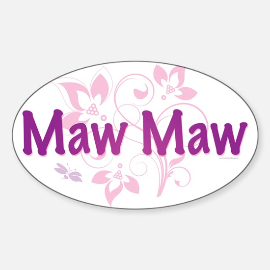Maw Maw Oval Decal