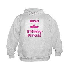 1st Birthday Princess Alexis! Kids Hoodie