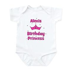 1st Birthday Princess Alexis! Infant Bodysuit