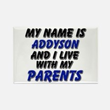 my name is addyson and I live with my parents Rect