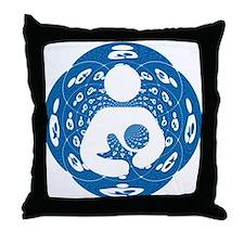 IBFS Kaleidoscope #2 Throw Pillow