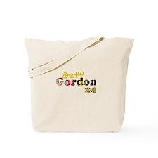 Jeff Gordon Tote Bag