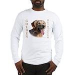 dusty_golden_retriever_8X10 Long Sleeve T-Shirt