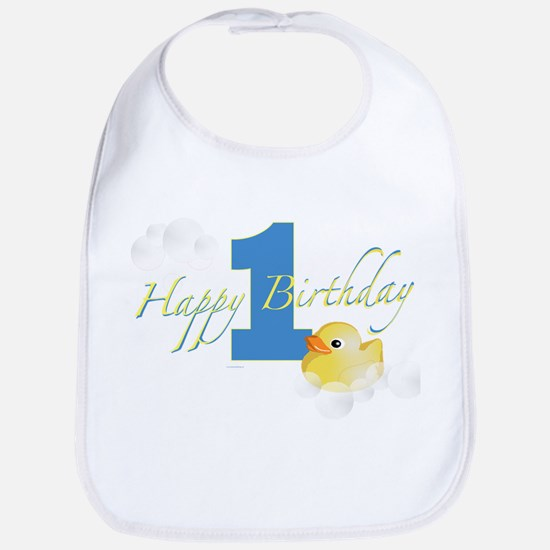 Happy 1st Ducky Birthday! Bib
