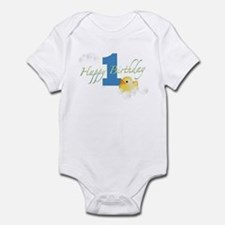Happy 1st Ducky Birthday! Infant Bodysuit