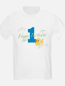 Happy 1st Ducky Birthday! T-Shirt