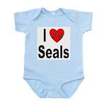 I Love Seals Infant Creeper