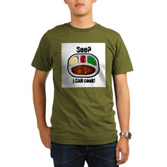 TV Dinner - I Can Cook T-Shirt