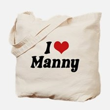 I Love Manny Tote Bag