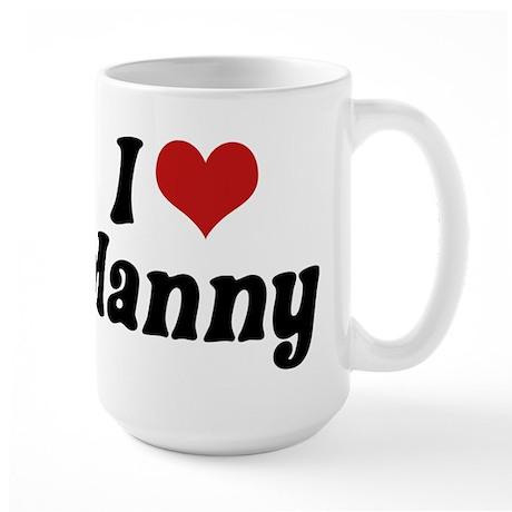 I Love Manny Large Mug