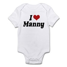 I Love Manny Infant Bodysuit