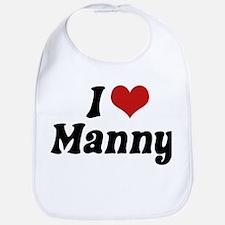 I Love Manny Bib