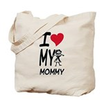 I Heart My Mommy Tote Bag