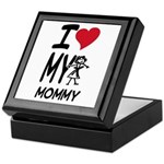 I Heart My Mommy Keepsake Box