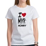 I Heart My Mommy Women's T-Shirt