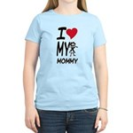 I Heart My Mommy Women's Light T-Shirt