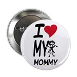 "I Heart My Mommy 2.25"" Button"