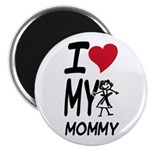 "I Heart My Mommy 2.25"" Magnet (10 pack)"
