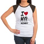 I Heart My Mommy Women's Cap Sleeve T-Shirt