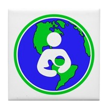 IBFS Earth Mother #2 Tile Coaster