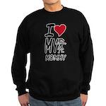 I Heart My Mommy Sweatshirt (dark)