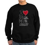 I Heart My Mommy Sweatshirt (dark)