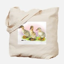 Buff Ducklings Tote Bag