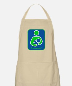 IBFS Green Mother BBQ Apron